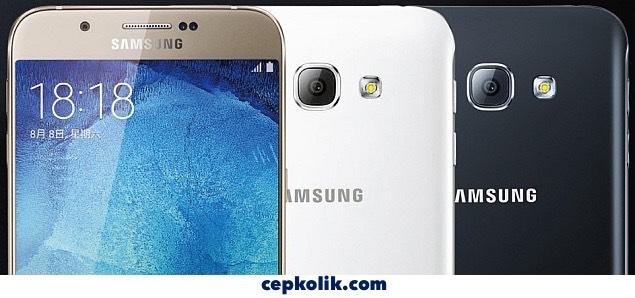 Samsung Galaxy A8 akilli telefon