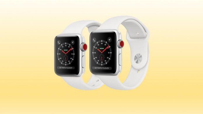 Apple Watch Series 3, Kablosuz Şarj Olurken Seçici Görünüyor
