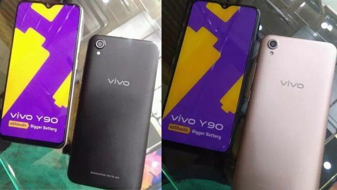 Giriş Seviyesi Vivo Y90 Canlı Canlı Görüntülendi!