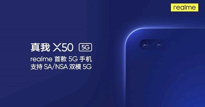 Realme X50 5G Geliyor - İşte Özellikleri ve Çıkış Tarihi
