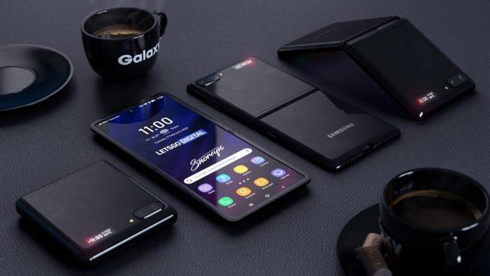 Samsung Galaxy Flip Z Tasarim