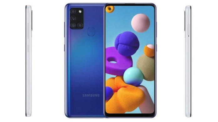 Samsung Galaxy A21s Tanıtıldı