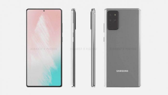Samsung Galaxy Note 20 Düz Bir Ekrana Sahip Olacak