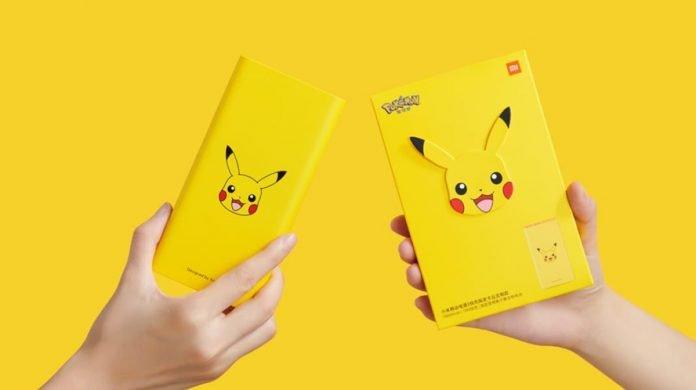 Xiaomi Mi Powerbank Pikachu Edition