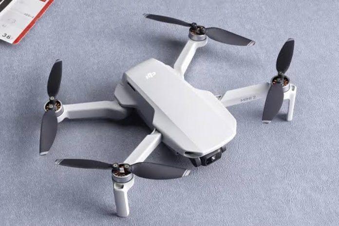 DJI Mini 2 Drone' dis