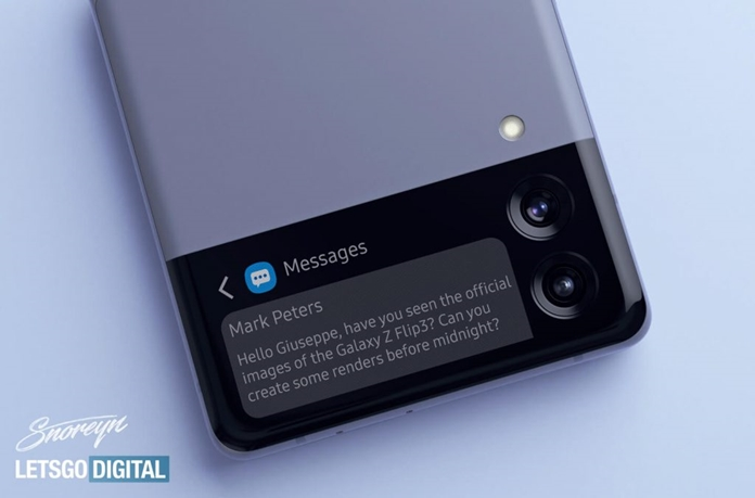 Samsung Galaxy Z Flip 3'ic