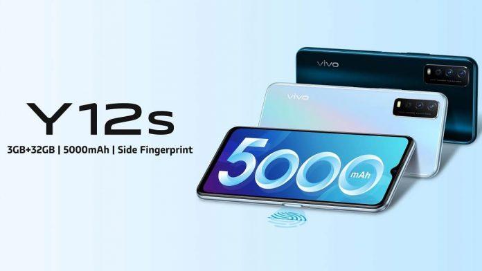 Vivo Y12s 2021, Snapdragon 439 ve 5.000 mAh Pil ile Geliyor