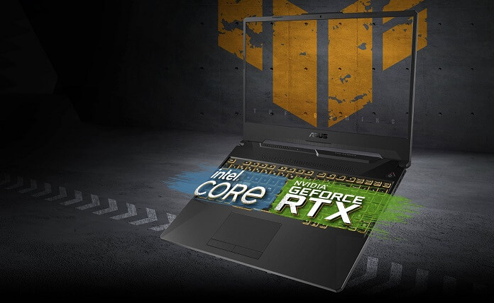 Asus TUF Gaming F15 FX506HM - islemci ve gpu