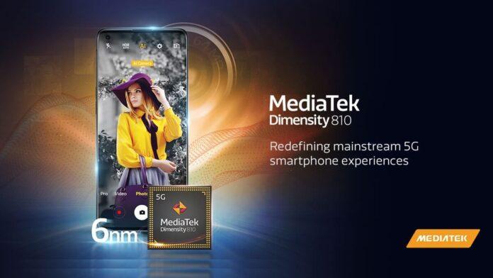 Realme ilk Dimensity 810 Akıllı Telefonunu Tanıtacak