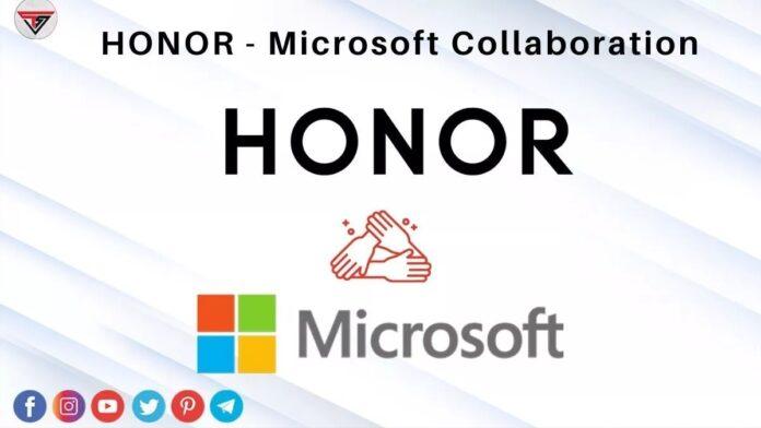 Honor ve Microsoft Ortaklık İmzaladı!